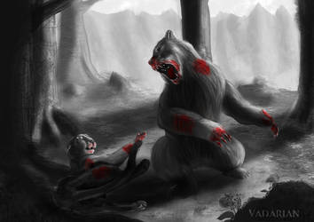 dangerous wildlife, fight or die ! by Vadarian