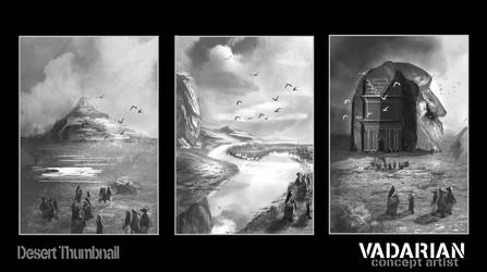 Desert Thumbnails by Vadarian