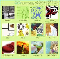 2009 summary by wind-hime-kaze