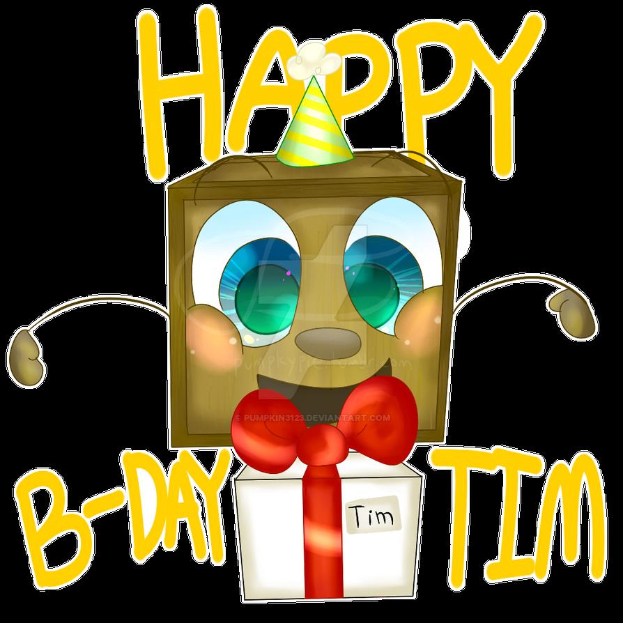happy birthday tim