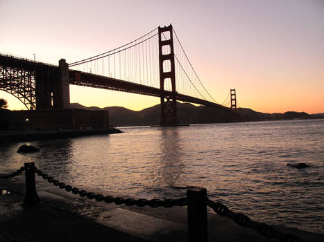Golden bridge