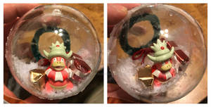 Slowking Christmas Ornament