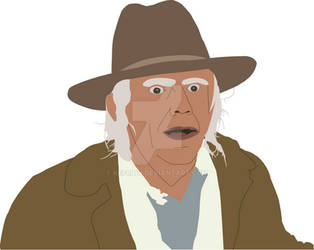 Doc Brown in the Old West