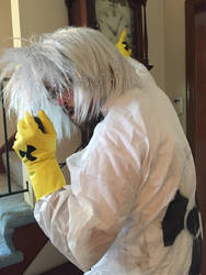 Doc Brown Cosplay (Back To The Future)