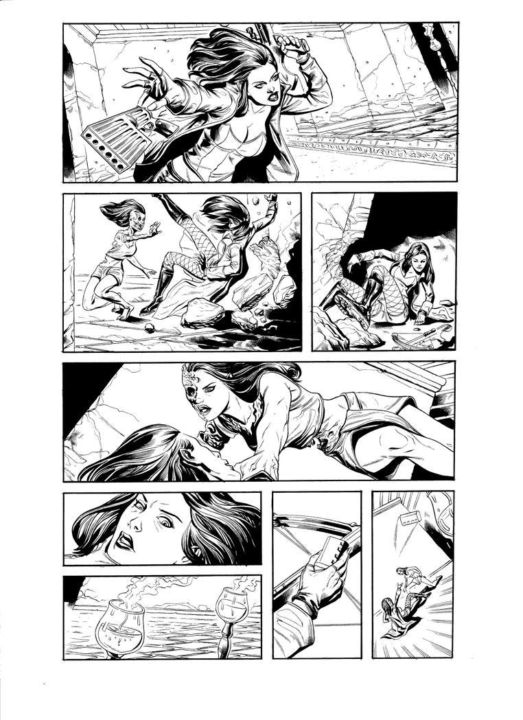Van Helsing pg 1 by IzzatAL