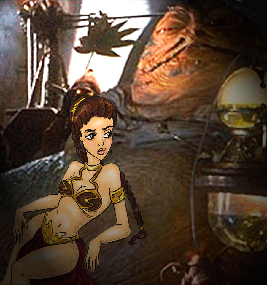 jabba the hut princess leia