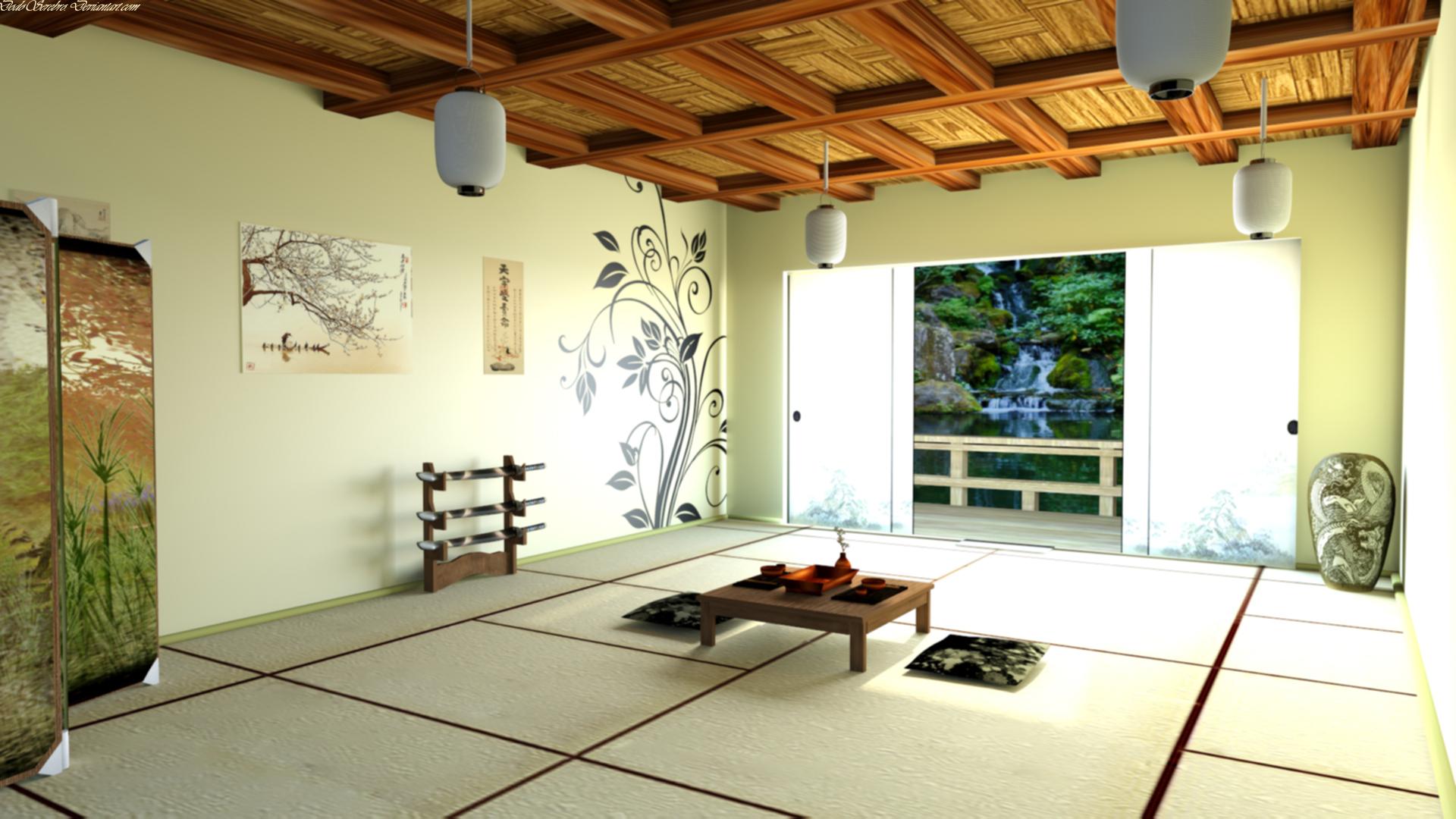 Japanese tea house interior - Filename Japanese_tea_room_by_dodoserebro D5c8a0z Jpg