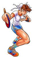 Chun Li ping pong fury