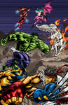 Marvel vs Capcom 3 comp