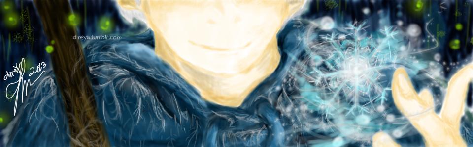Snowflakes on him by HazuMasaza