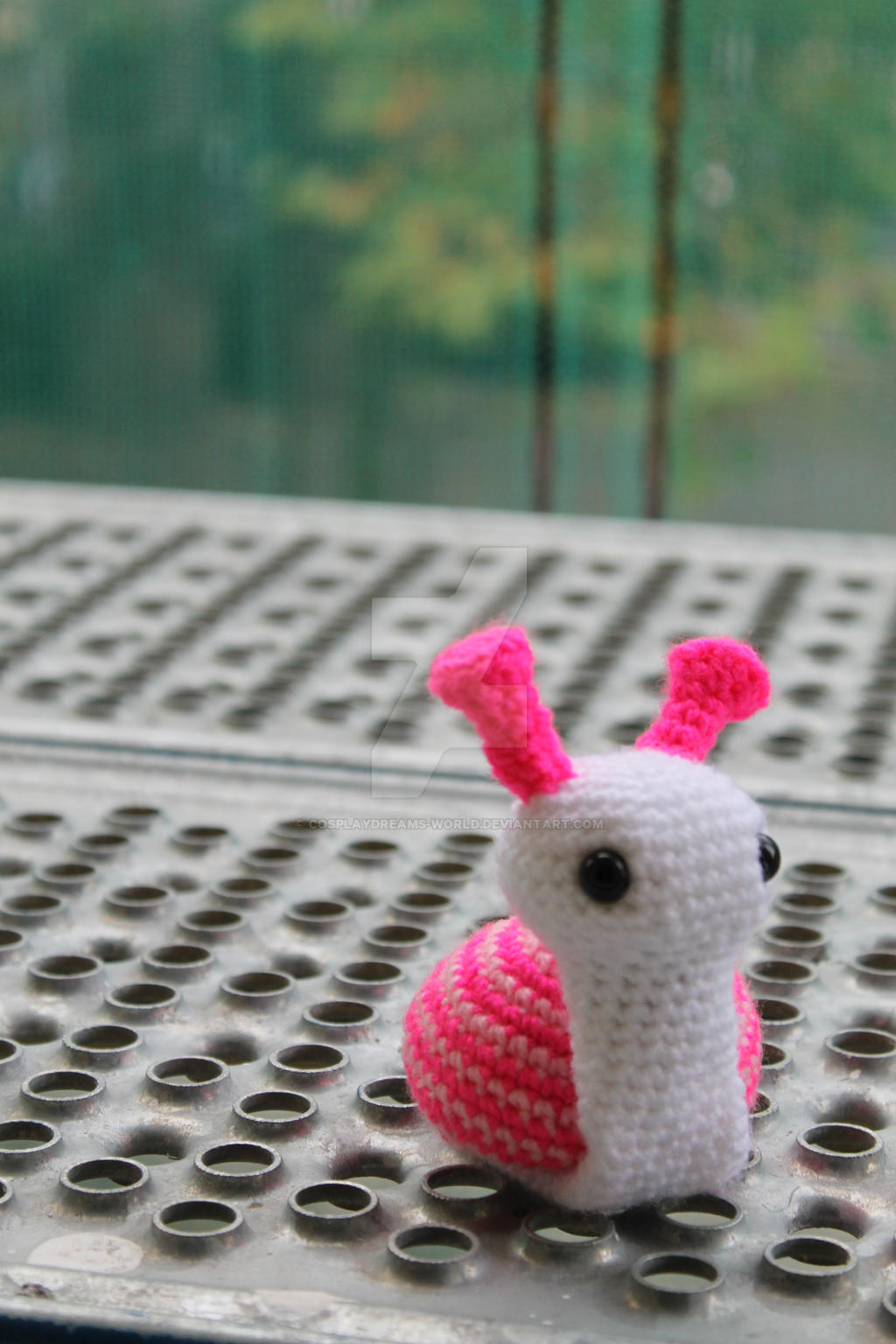 Amigurumi Snail by CosplayDreams-World