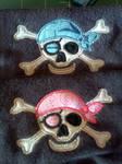 Pirate Bibs