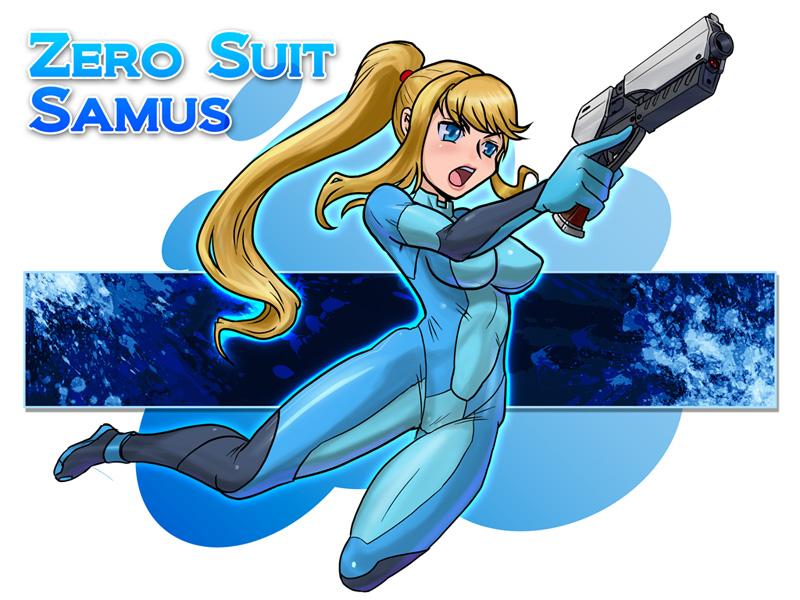 Zero Suit Samus by zerohime