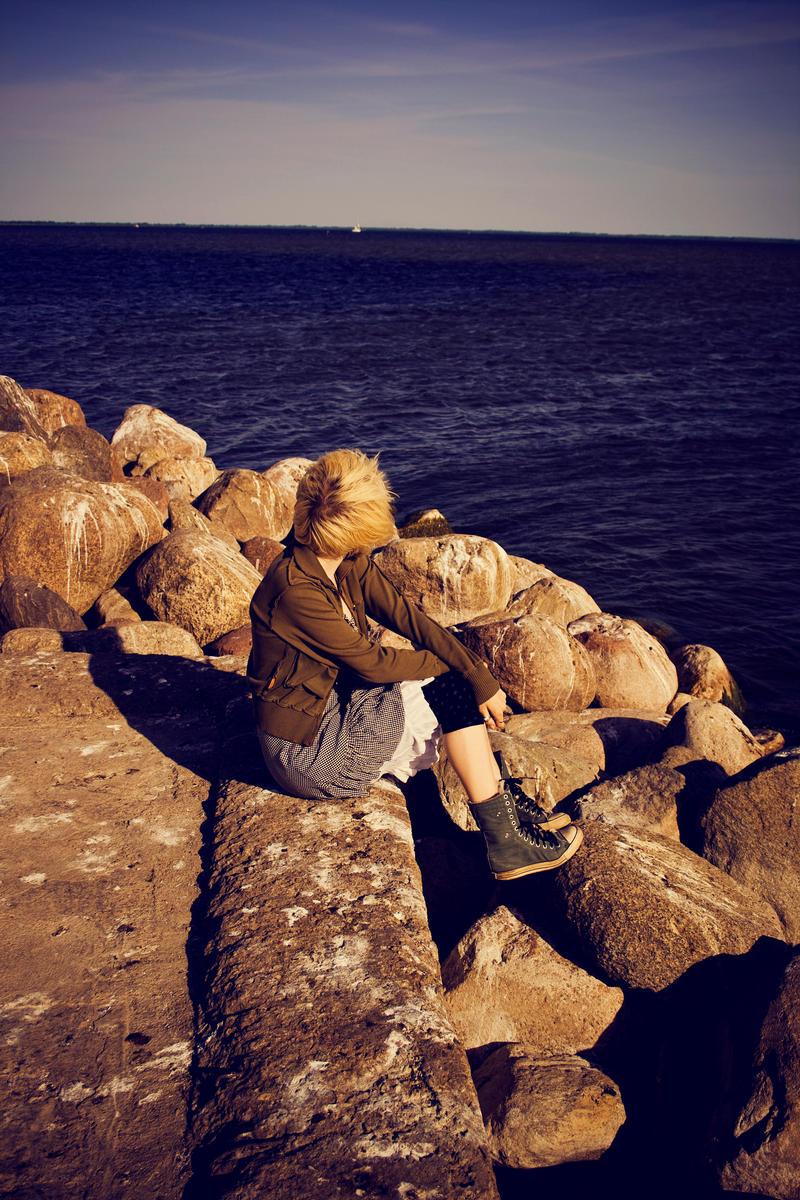 Staring at the ocean STOCKII by EK-StockPhotos