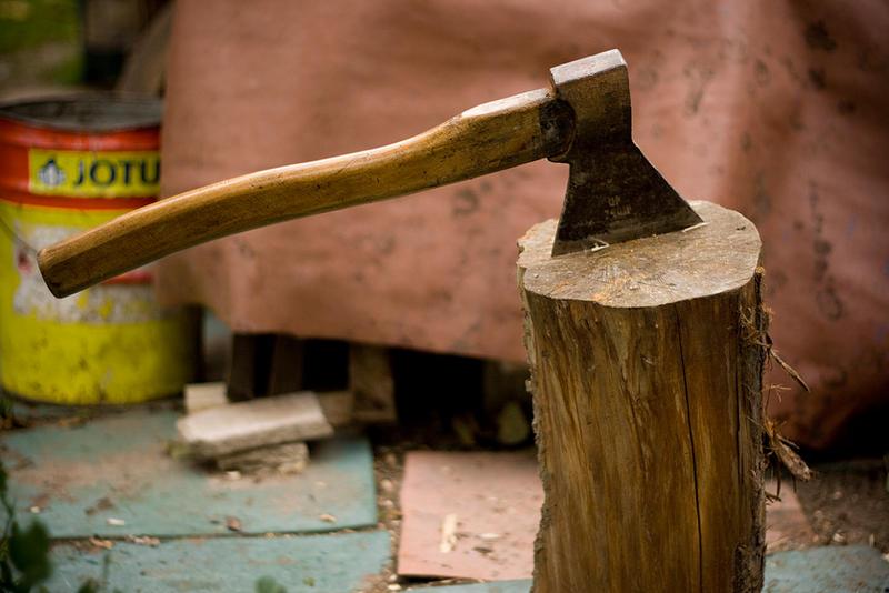 hatchet_axe stock by EK-StockPhotos