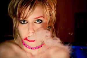 Smoke portrait stock x by EK-StockPhotos