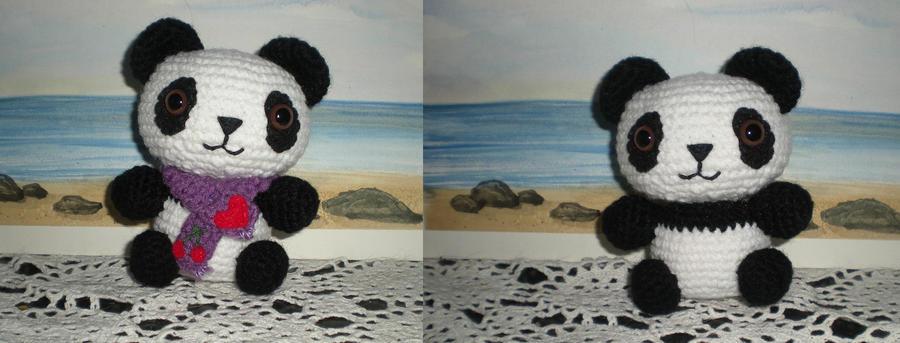 Amigurumi Free Patterns Pokemon : Panda Amigurumi by NocturneStar on DeviantArt