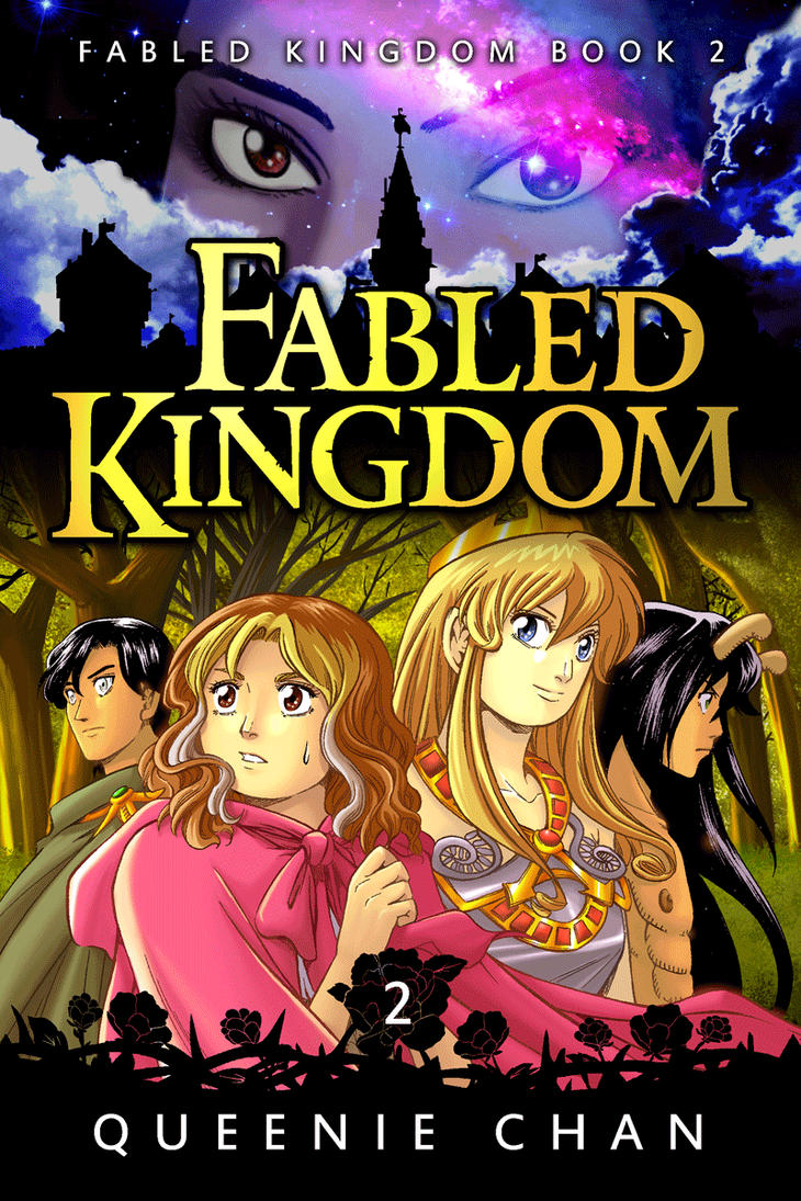 Cover for Book 2 of Fabled Kingdom! by QueenieChan