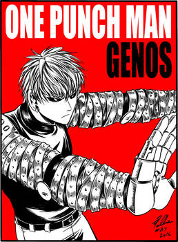 Genos Fan-art (One Punch Man)