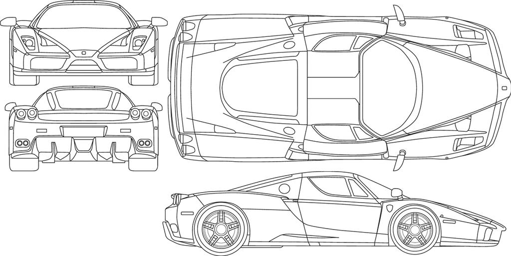 Car blueprint by salahzwean on deviantart car blueprint by salahzwean malvernweather Image collections