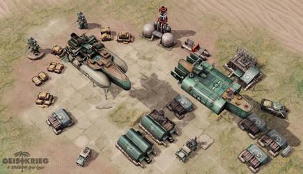 Geistkrieg - Allied Base by smurfbizkit