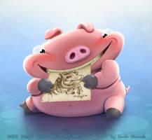 Wee Piggy by Darkodev