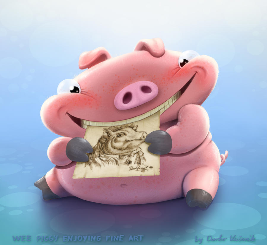 Wee Piggy by Darkodev