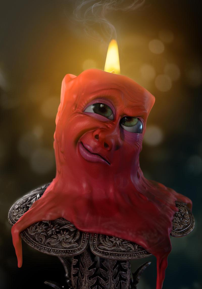I smell something burning by Darkodev