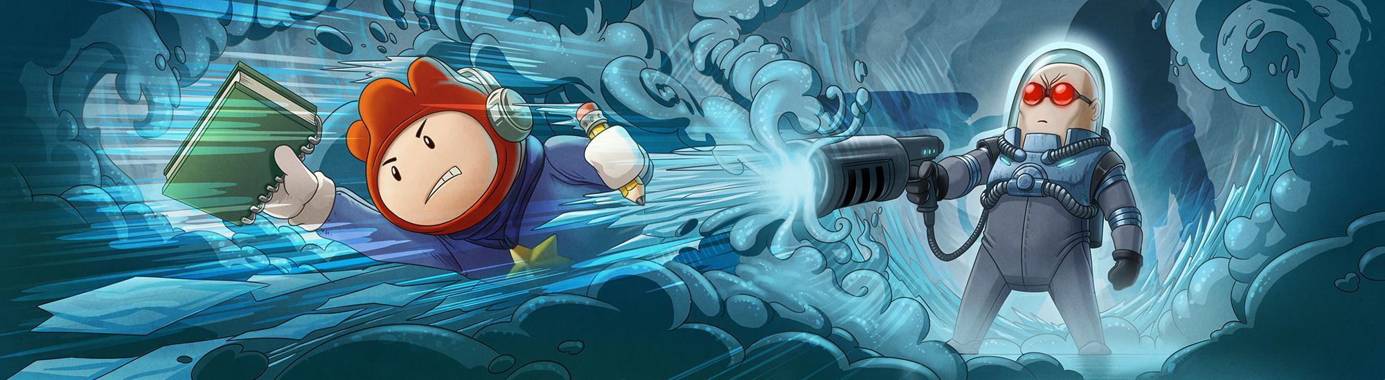 Mr. Freeze vs Maxwell by Darkodev