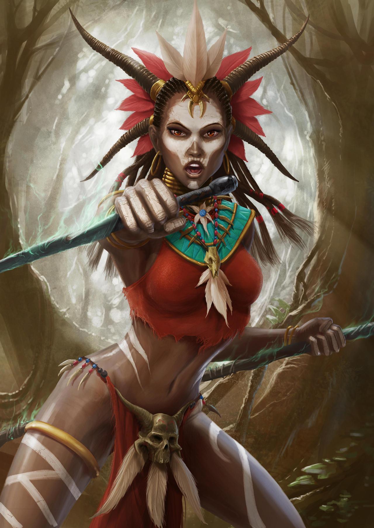 Witch Doctor By Darkodev On Deviantart