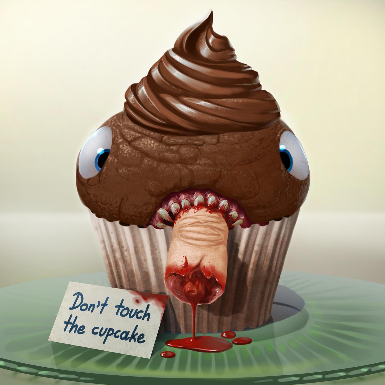Carnivorous cupcake by Darkodev