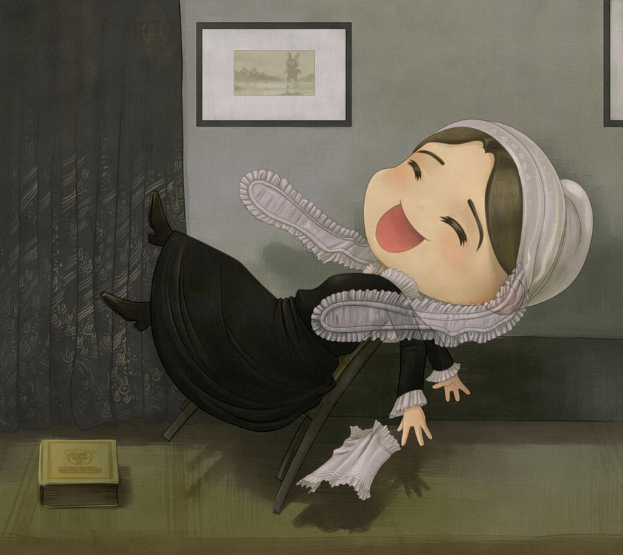 Whistler's mother chibified by Darkodev