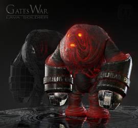 Lava Soldier