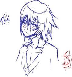 Etrik's new face by mydarksides