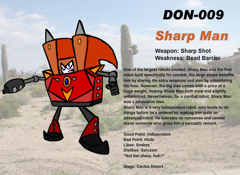 DON-009 Sharp Man by Ocsttiac