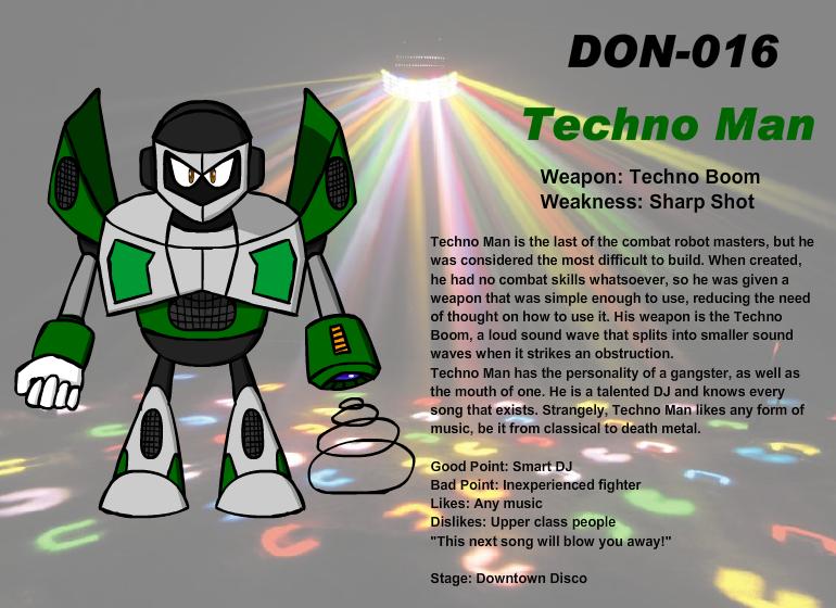 DON-016 Techno Man by Ocsttiac
