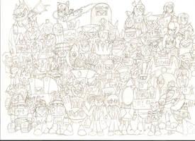 Project GP Pencil Drawing by Ocsttiac