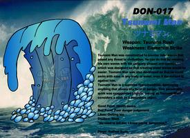 DON-017 Tsunami Man by Ocsttiac