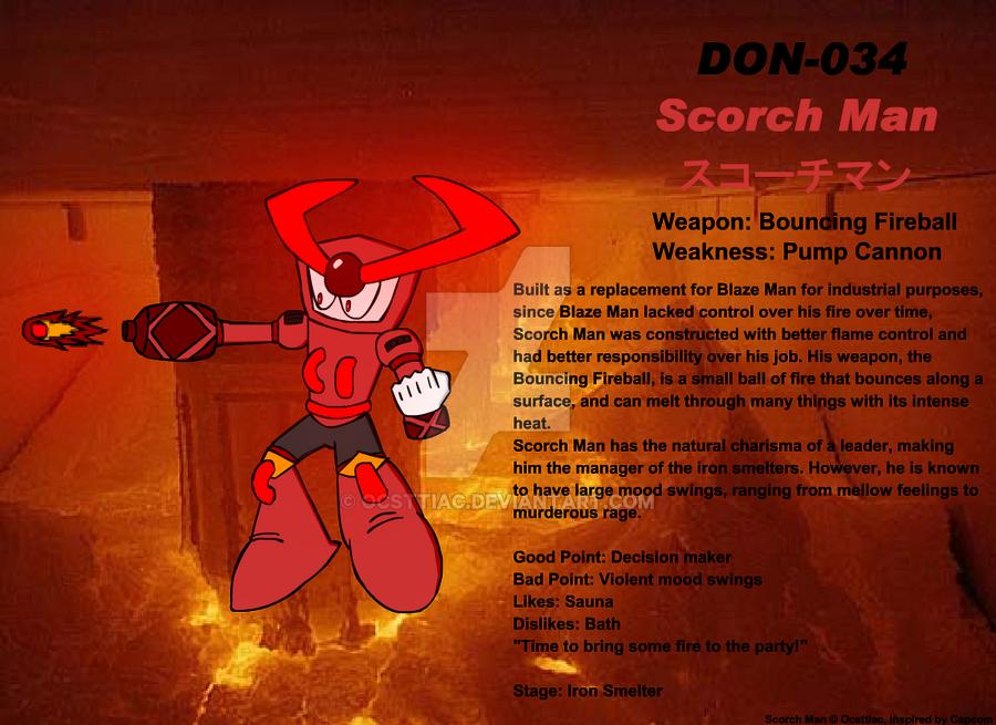 DON-034 Scorch Man by Ocsttiac