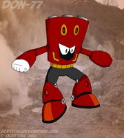 DON-077 Fumarole Man