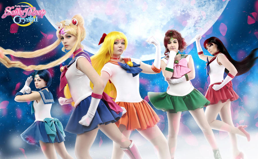 Sailor Moon Cosplay Sailor Senshi By Alexial Kun On