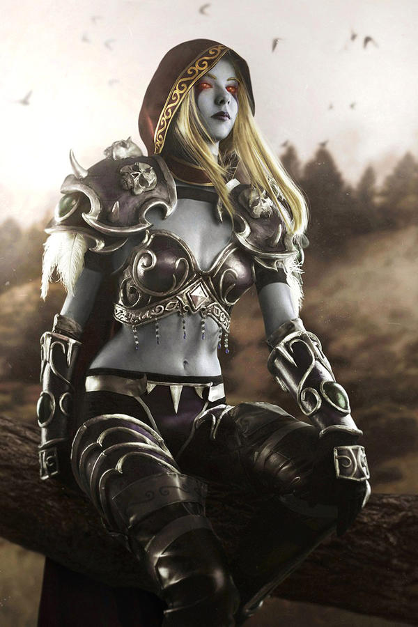 Sylvanas world of warcraft hmv 1