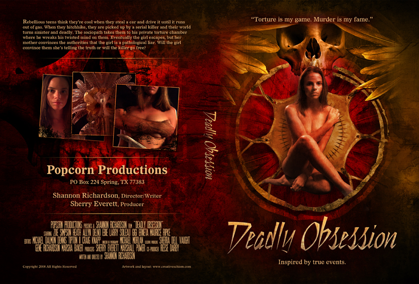 Deadly Obsession DVD cover by fensterer