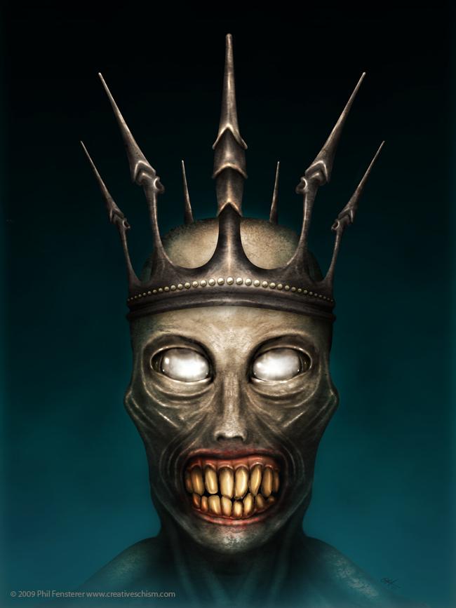 Zombie King by fensterer