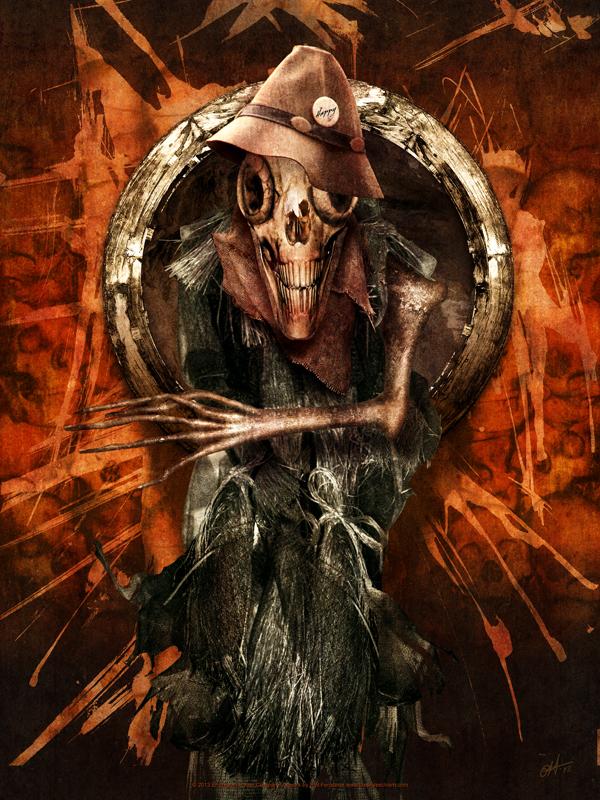 Haunted Scarecrow poster art by fensterer on DeviantArt
