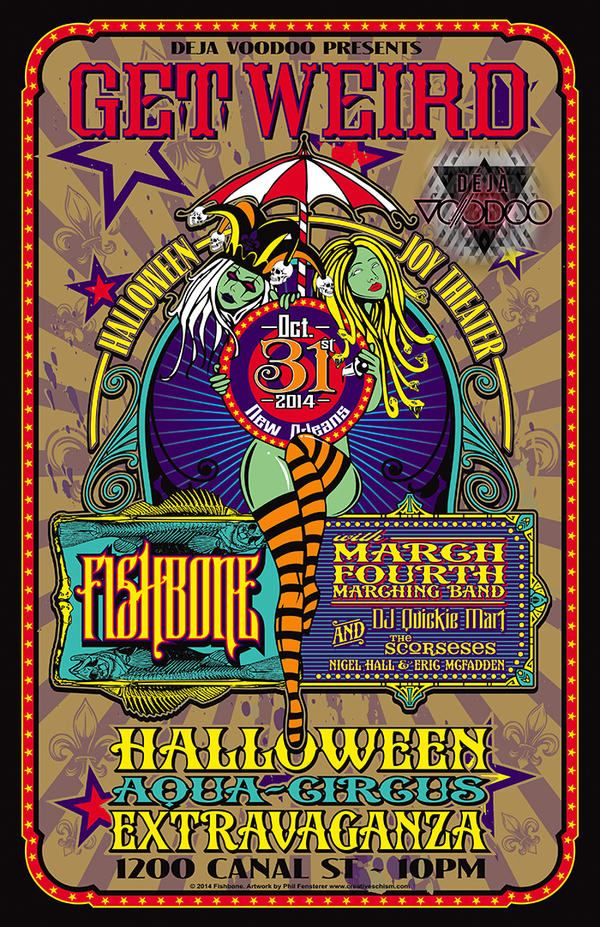 Fishbone and March Fourth Poster by fensterer