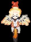 Mercy Pixel || F2U Decore by hltzmnn