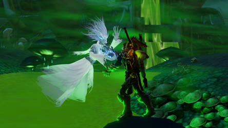 Firelle versus the Ghost