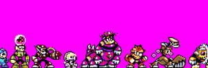 Custom Megaman robotmasters sprites