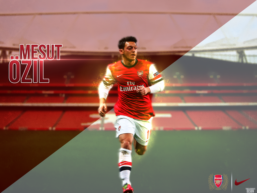 Mesut Ozil By TomasHenriquesDesign On DeviantArt
